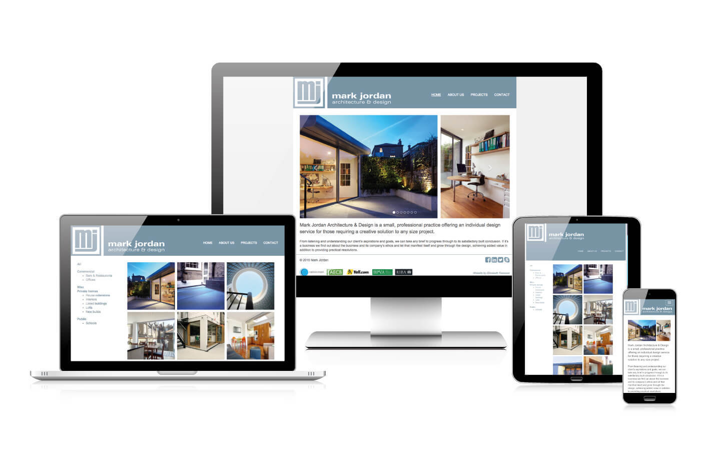 Responsive website design - Mark Jordan