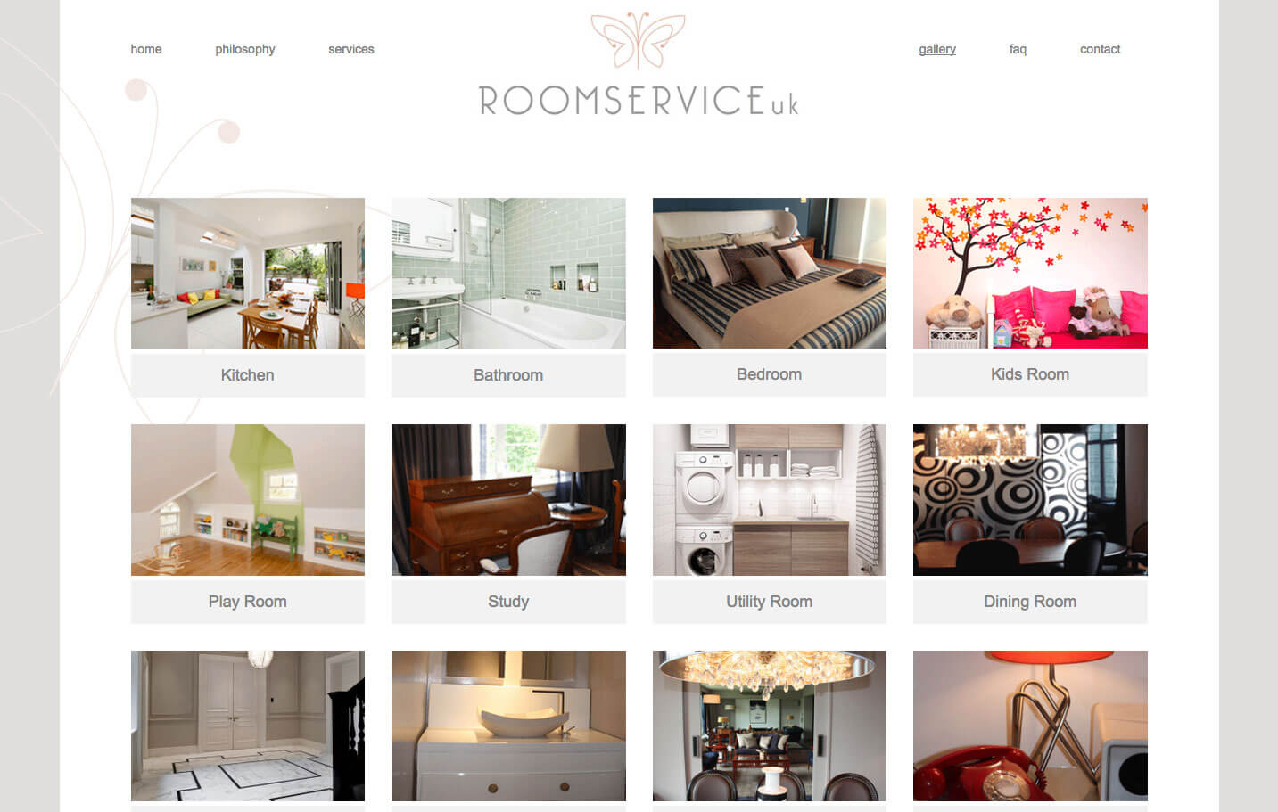 Virtual interior design website wordpress theme for Virtual interior design