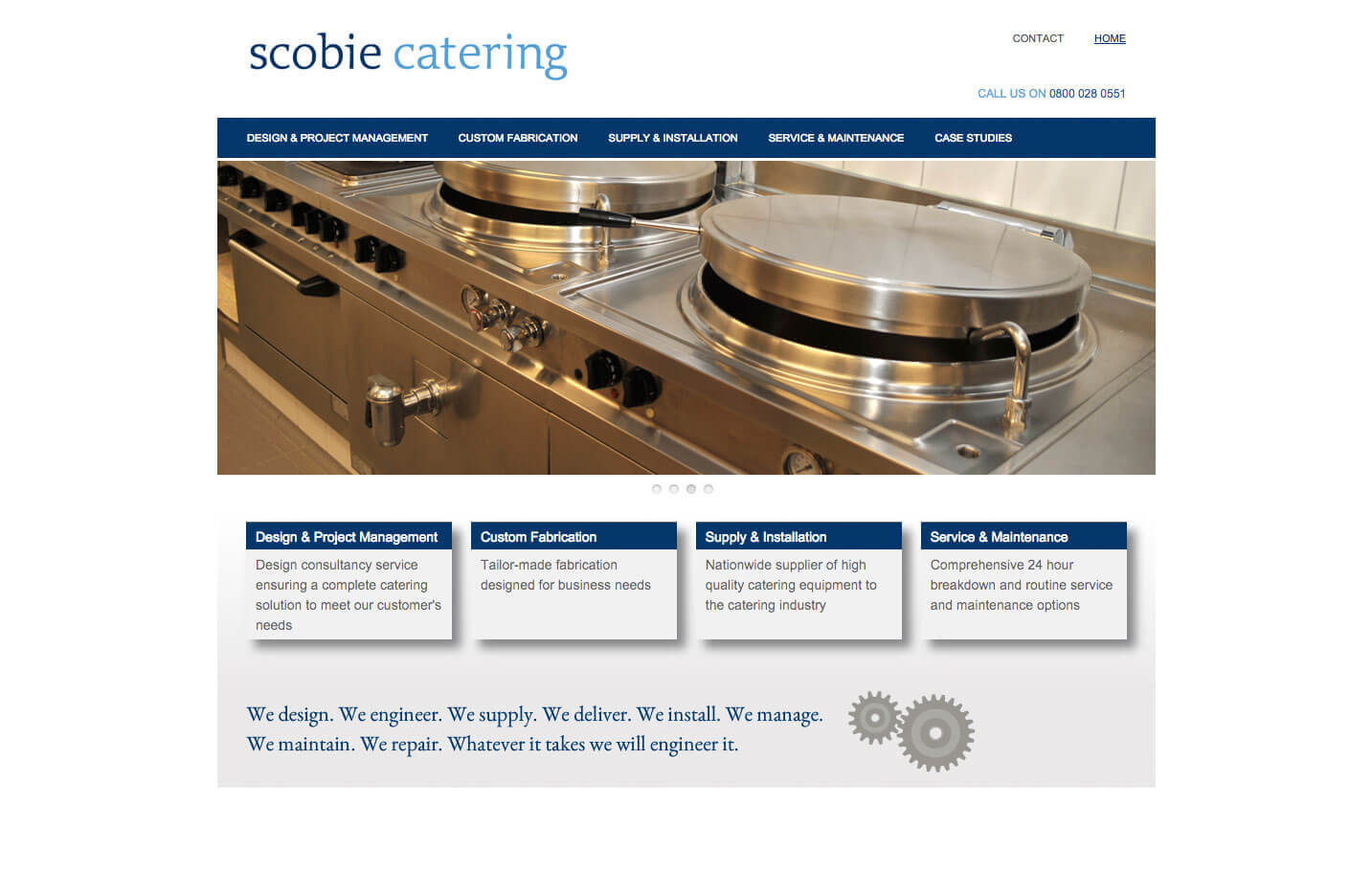 Scobie Catering - Home page
