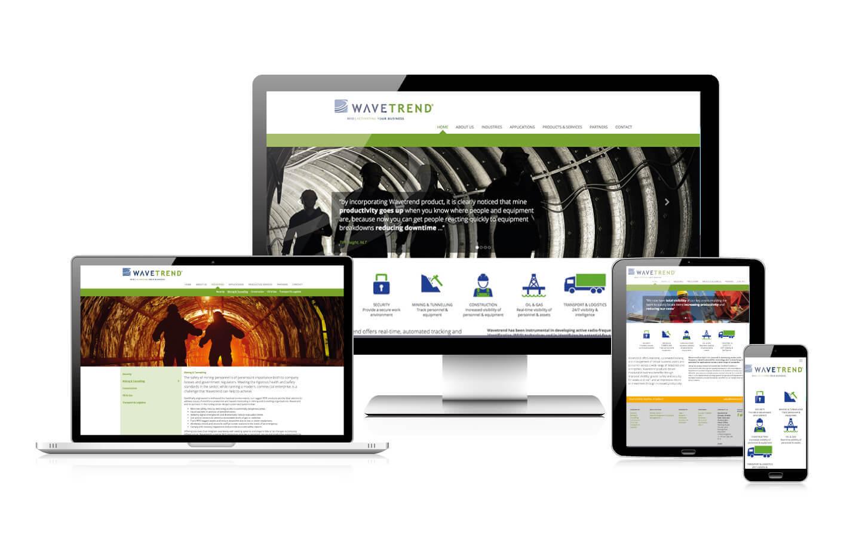 Wavetrend responsive website
