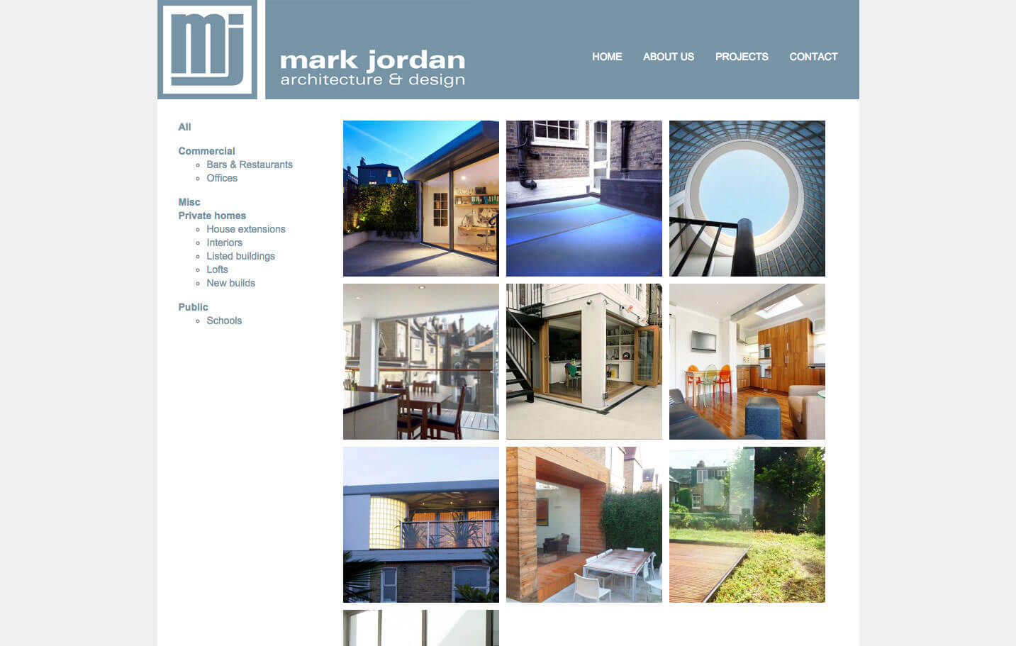 Mark Jordan - Projects page