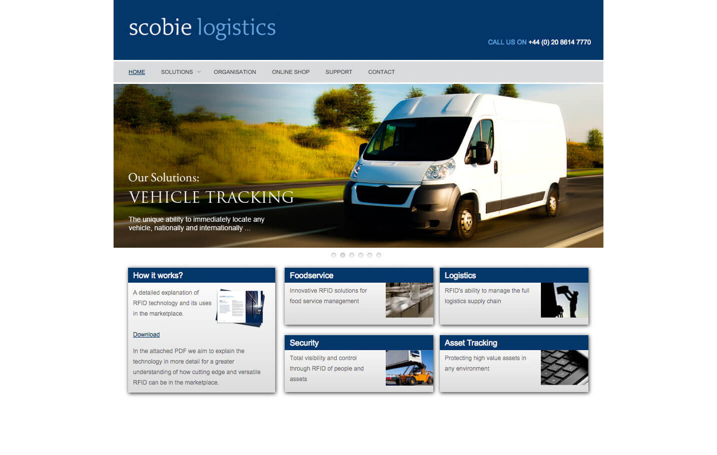 Scobie Logistics - Home page