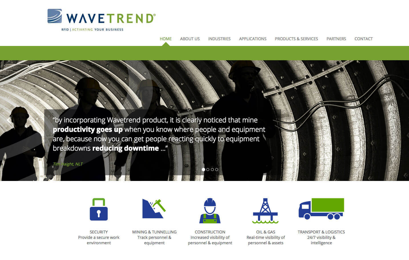 Wavetrend - Home page