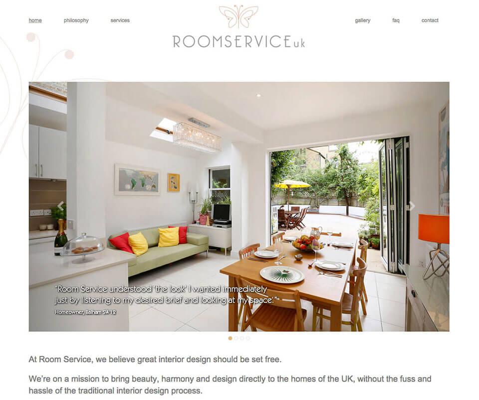 Web design portfolio - Virtual interior design
